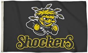 Collegiate Wichita State 3' x 5' Flag w/Grommets