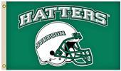 Collegiate Stetson Univ. 3'x5' Flag w/Helmet Logo