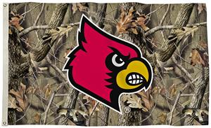 Collegiate Louisville Realtree Camo 3' x 5' Flag