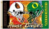 Collegiate Oregon/Oregon State Rivalry House Flag
