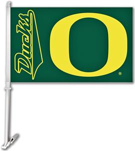"Collegiate Oregon 11""x18"" Car Flag"