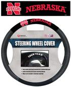 Collegiate Nebraska Steering Wheel Cover