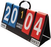 Athletic Specialties Deluxe Portable Score Board