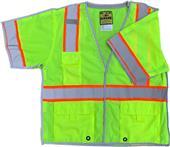 Game Sportswear Class 3 Five-Point Breakaway Vest