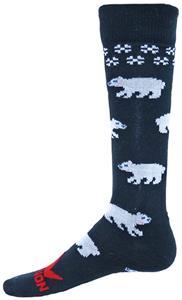 Red Lion Polar Bear Over-The-Calf Knee High Socks