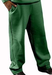 9.5 Oz. Heavyweight Open Bottom Fleece Pant Pocket