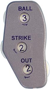 Athletic Specialties Oversize Umpire Indicator EA