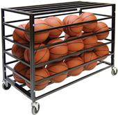 Athletic Specialty Deluxe Lockable Ball Carts