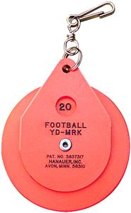 Athletic Specialty Clip-on Chain Yardage Marker
