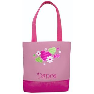 Sassi Designs Dance Hearts n Flowers Tote