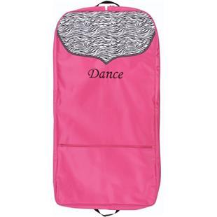 Sassi Designs Dance Zebra Print Garment Bag