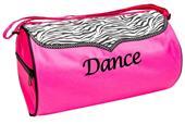 Sassi Designs Dance Zebra Duffel Bag