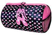 Sassi Designs Slippers N Hearts Small Duffel Bag