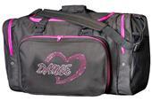 Sassi Designs Dance Heart Bling Duffel Bag