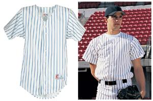 All Star Baseball Full Button Pinstripe Jerseys