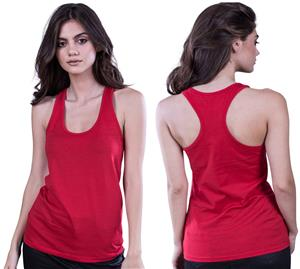 Cotton Heritage Ladies Jersey Racer-Back Tank