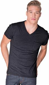 Next Level Adult CVC Pocket V-Neck T-Shirts