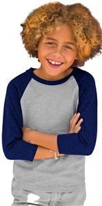 Next Level Youth CVC 3/4 Sleeve Raglan T-Shirts