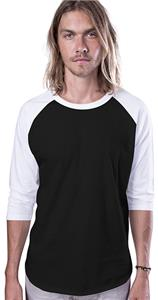 Cotton Heritage Fashion 3/4 Sleeve Baseball Tee