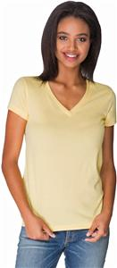 Next Level Women's Sueded Short Sleeve V T-Shirts