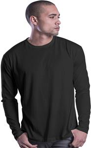 Cotton Heritage Mens Fashion L/S Crew Tee