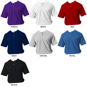 Eagle USA Poly Cotton Mesh 2Button Baseball Jersey