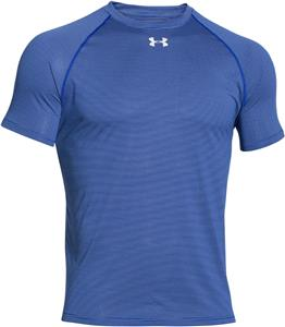 Under Armour Short Sleeve Stripe Tech Locker Tee