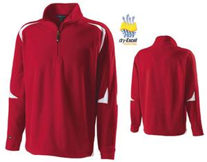 Holloway Torch Microfleece Warm Up Pullover
