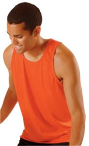 Poly/Cotton Tank Top Athletic Cut Jerseys