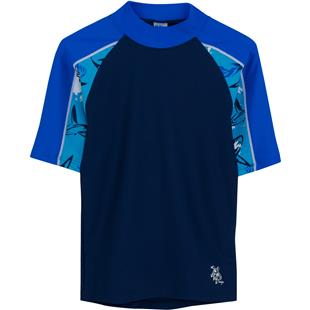 Tuga Swimwear Boys Breaker S/S Rash Guards