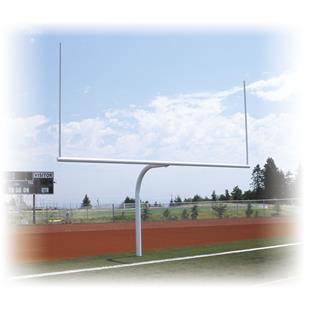 Stackhouse Semi-Permanent Gooseneck Goal Post