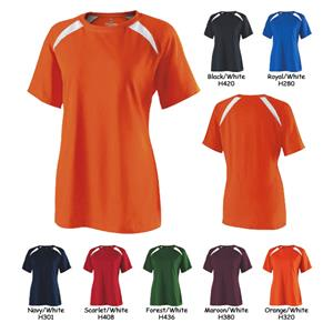 Holloway Ladies Response Athletic Cotton Shirt