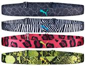 Puma Neon Jungle Headbands (4 Pack)