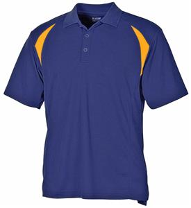Baw Men's Colorblock Cool-Tek Polo