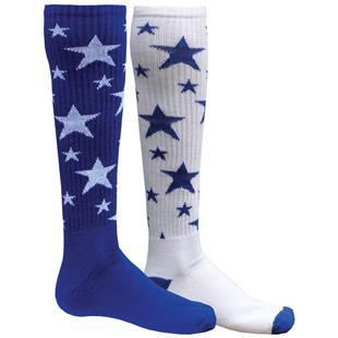 Red Lion Mismatched MX Stars Socks