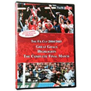 The Soccer FA Cup 2004/05 (DVD) training videos