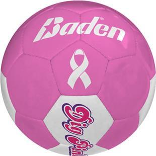 Baden Pink Breast Cancer Foundation Soccer Balls