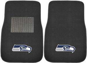 Fan Mats NFL Seahawks Embroidered Car Mats (set)