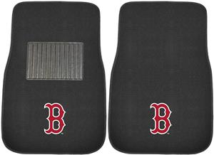 Fan Mats MLB Red Sox Embroidered Car Mats (set)