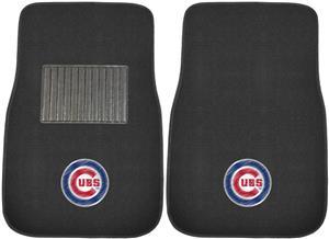 Fan Mats MLB Cubs Embroidered Car Mats (set)