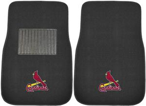 Fan Mats MLB Cardinals Embroidered Car Mats (set)