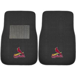 Fan Mats MLB Cardinals Embroidered Car Mats (set)