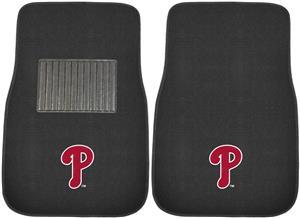 Fan Mats MLB Phillies Embroidered Car Mats (set)