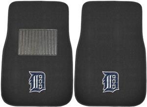 Fan Mats MLB Tigers Embroidered Car Mats (set)
