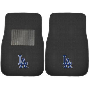 Fan Mats MLB LA Dodgers Embroidered Car Mats (set)