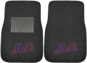 Fan Mats MLB NY Mets Embroidered Car Mats (set)