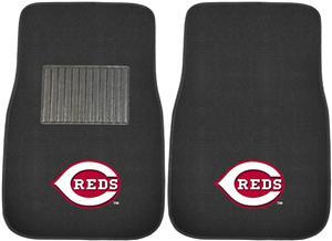 Fan Mats MLB Reds Embroidered Car Mats (set)