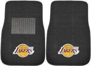 Fan Mats NBA LA Lakers Embroidered Car Mats (set)