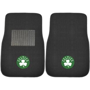 Fan Mats NBA Celtics Embroidered Car Mats (set)