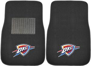 Fan Mats NBA OKC Thunder Embroidered Car Mat (set)